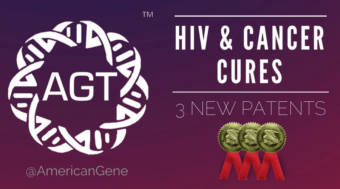 American Gene Technologies (AGT) Granted Three New Patents in its HIV Cure and Immuno-oncology Programs