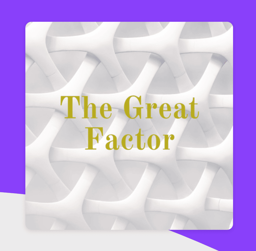 Jeff Galvin Speaks on The Great Factor Podcast